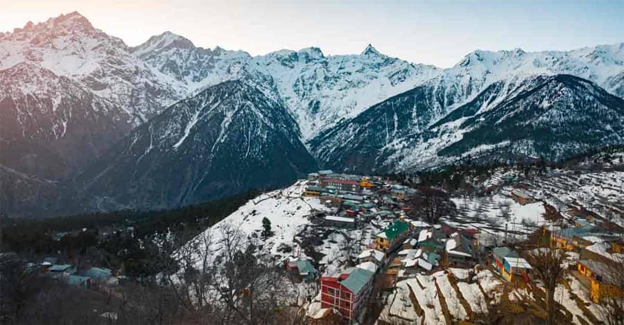 Shimla Sarahan Sangla Chitkul Kalpa tour packages