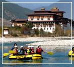 Rafting in Bhtan