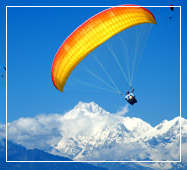 nepal trip package paragliding