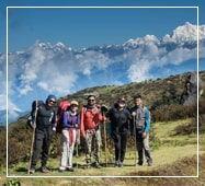 phalut sandakphu trekking package route