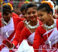 sundarban hilsa fest jhumur dance