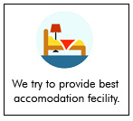 During Sundarban tour we try to provide the best accomodation fecility that is possible to provide.
