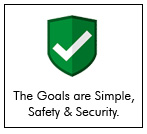 in our Sundarban tour, the goals are simple; Safety and Security.